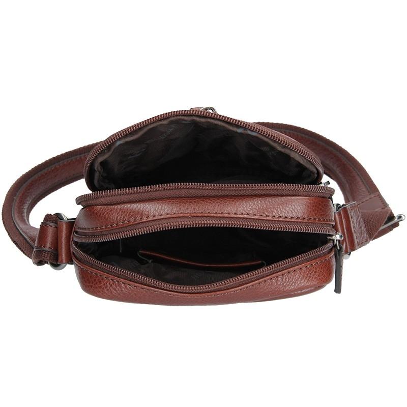 Dámská kabelka Doca 10879 - lososová