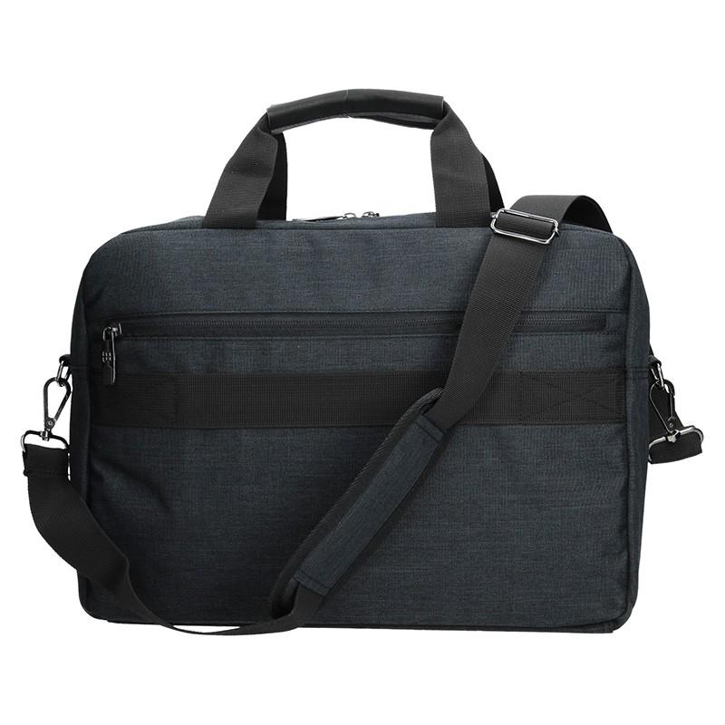 Pánská taška přes rameno Hexagona 293804 -tmavě hnedá