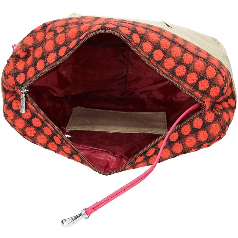 Pánská kožená taška přes rameno Hexagona 123477 - koňak