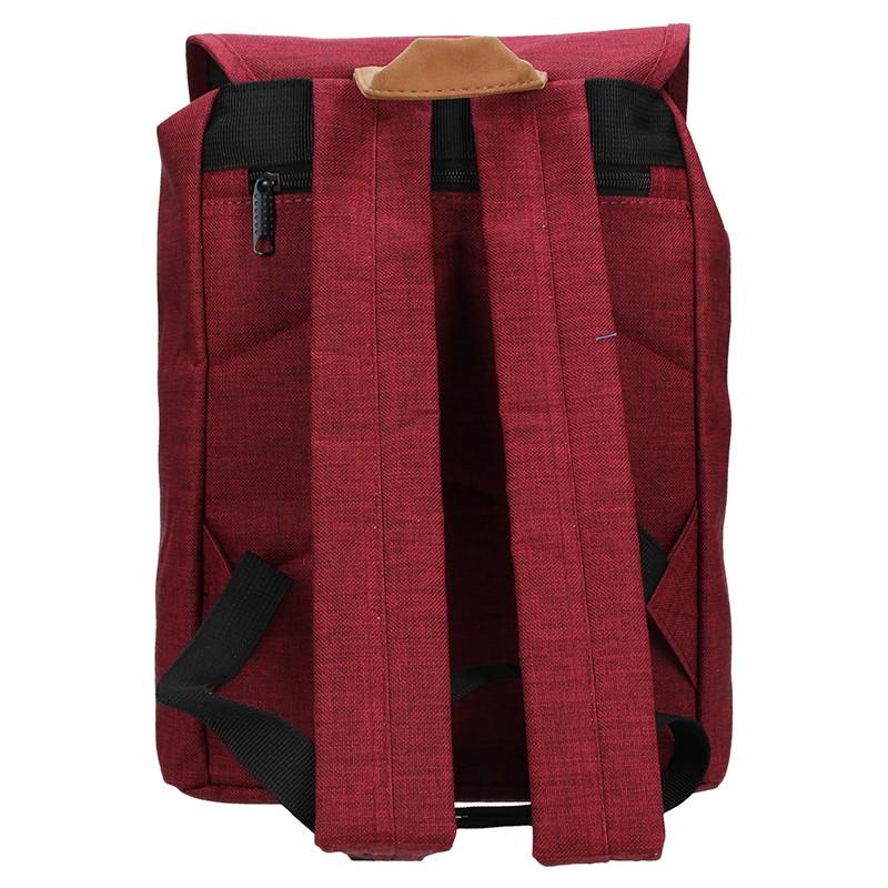 Pánská kožená taška přes rameno Lagen Dante - hnědá