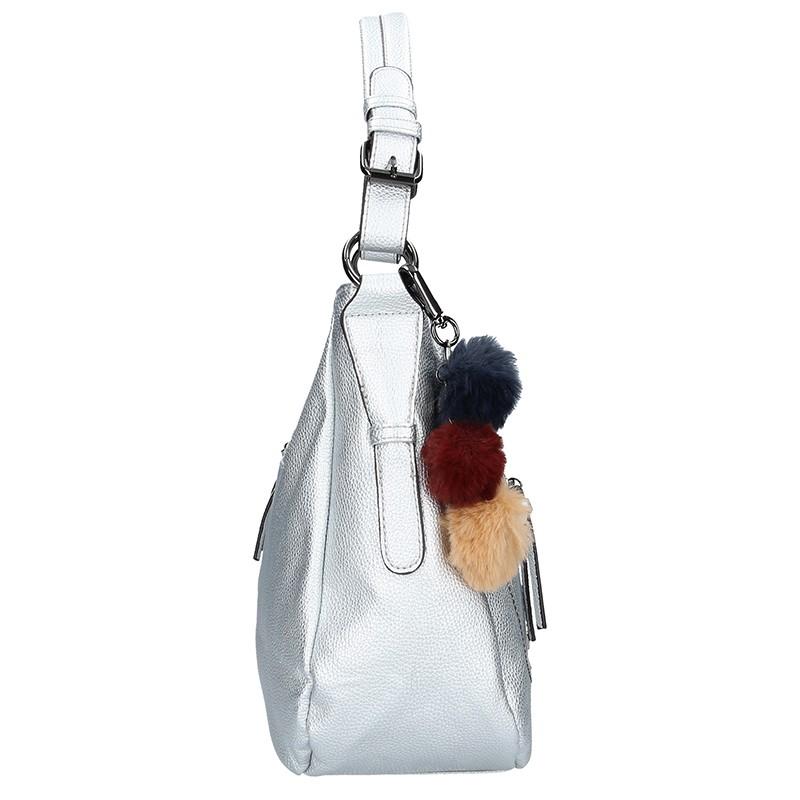 Dámská kožená kabelka Facebag Gwen - černá