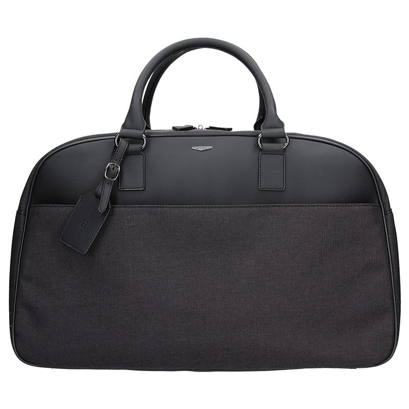 Pánská taška přes rameno Bellugio Floyd - černá