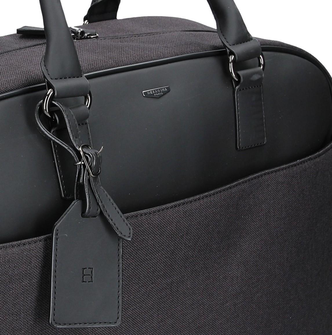 Pánská taška přes rameno Bellugio Tibor - černá