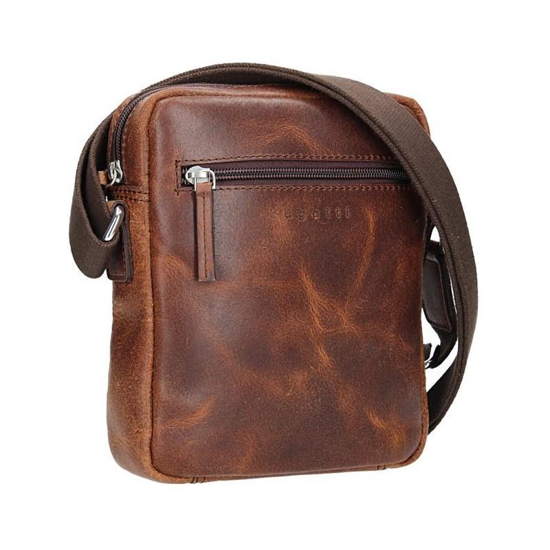 Pánská taška přes rameno Sammons Jeff - hnědá