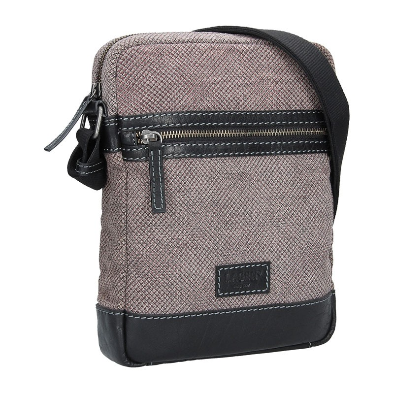 Dámská kabelka Doca 12009 - šedá
