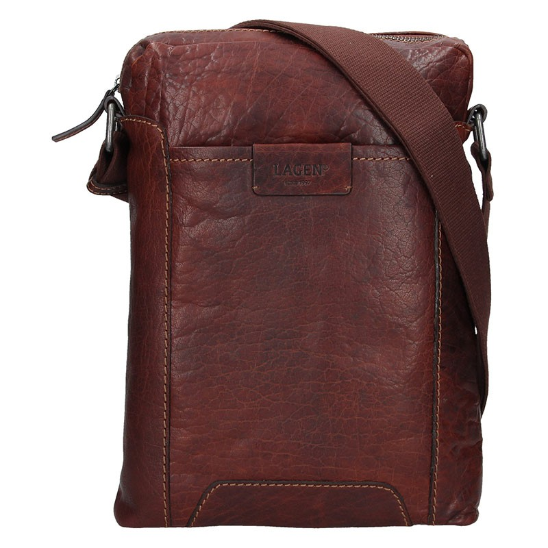 Dámská kabelka Doca 12395 - lososová