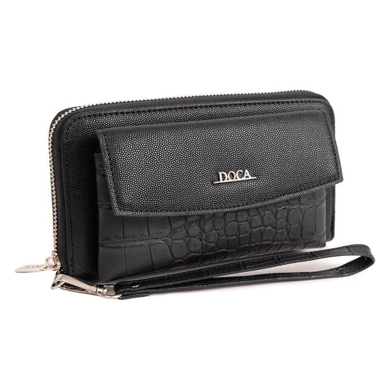Pánská kožená taška přes rameno SendiDesign CT704 - černá