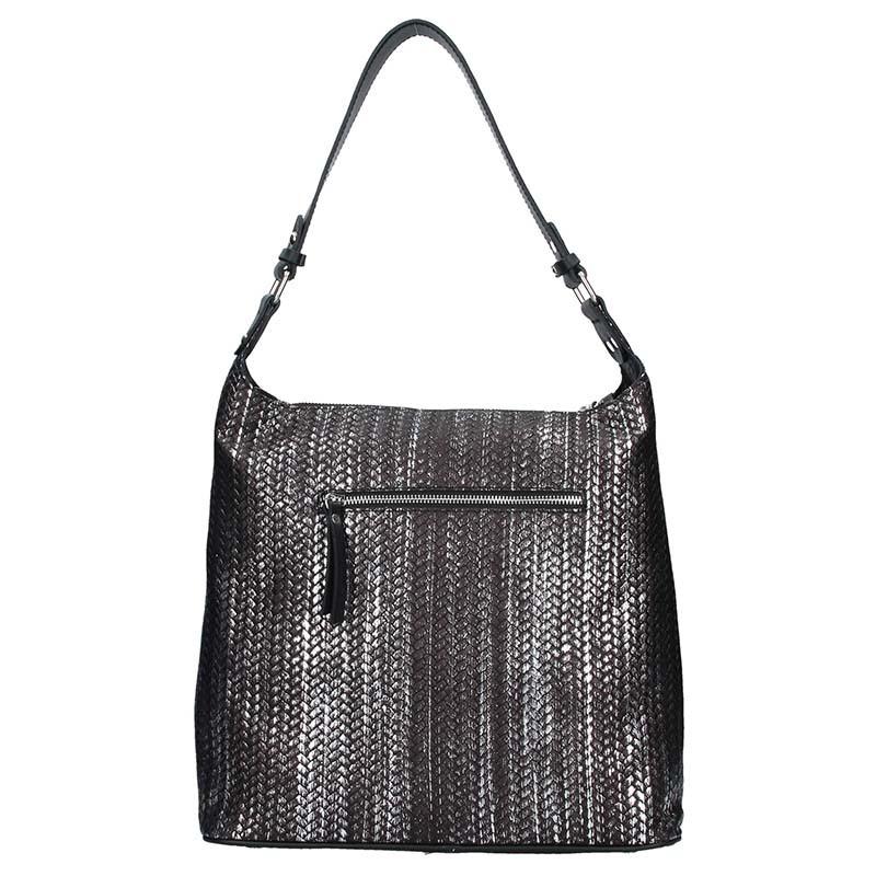 Pánská kožená taška přes rameno SendiDesign Pietro - světle hnědá