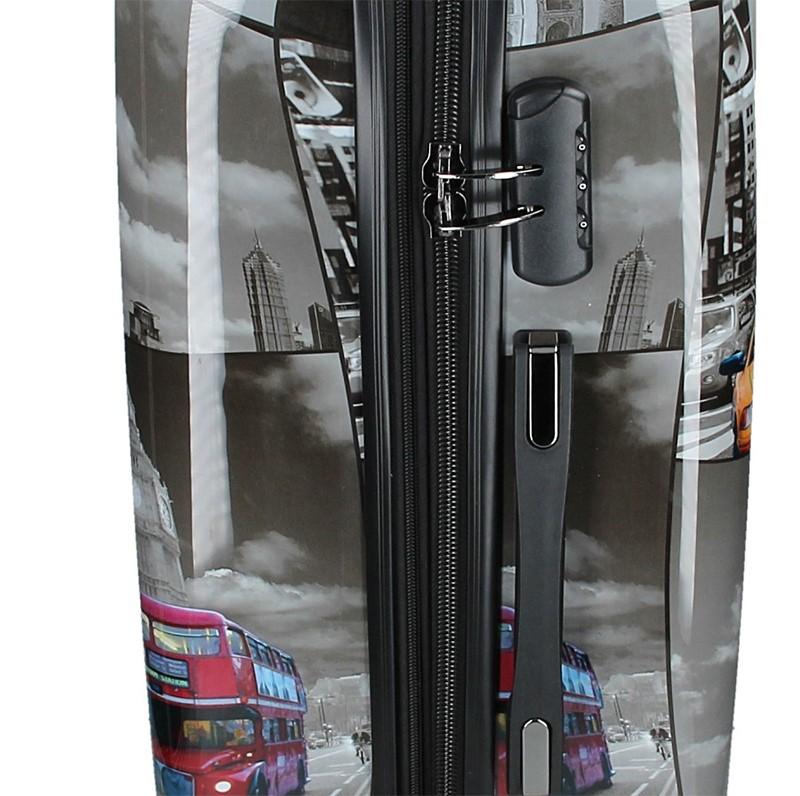 Pánská kožená taška přes rameno Gérard Henon Minimalix - hnědá