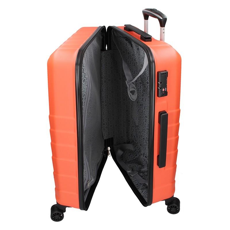 Dámská kožená kabelka Facebag Bernadeth - černá