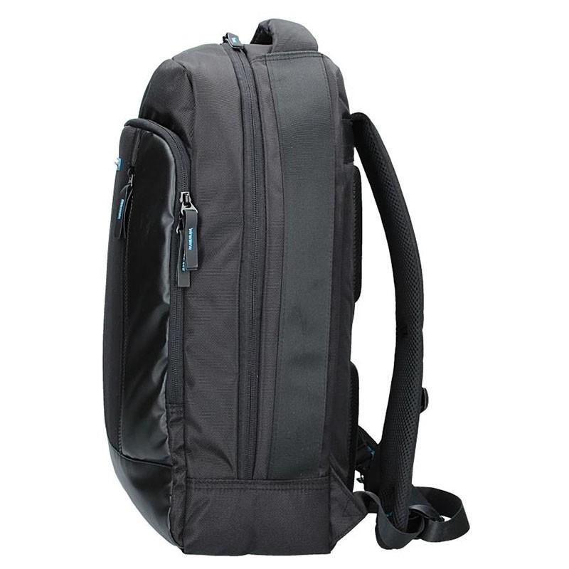 Pánská kožená taška přes rameno SendiDesign IG702 - černá