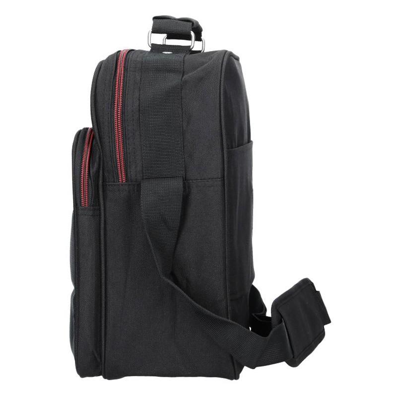 Pánská kožená taška přes rameno SendiDesign IG702 - hnědá