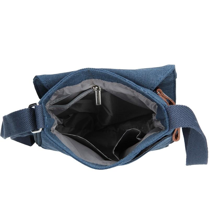 Pánská taška přes rameno Hexagona D72278 - černá