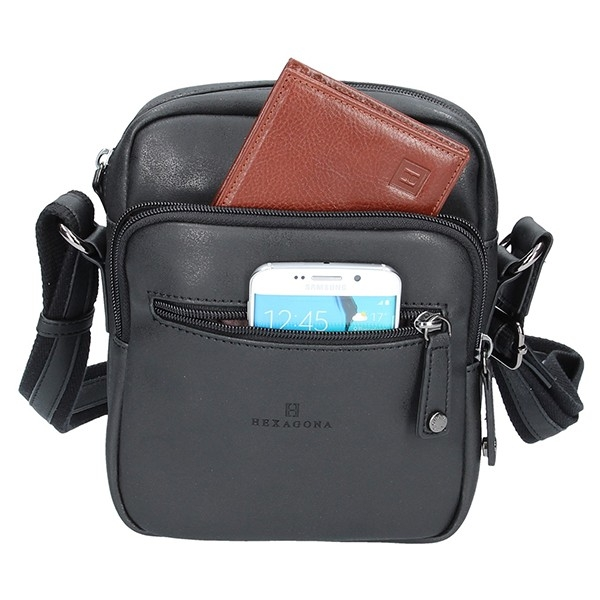 Pánská taška přes rameno Diviley Robert - černá