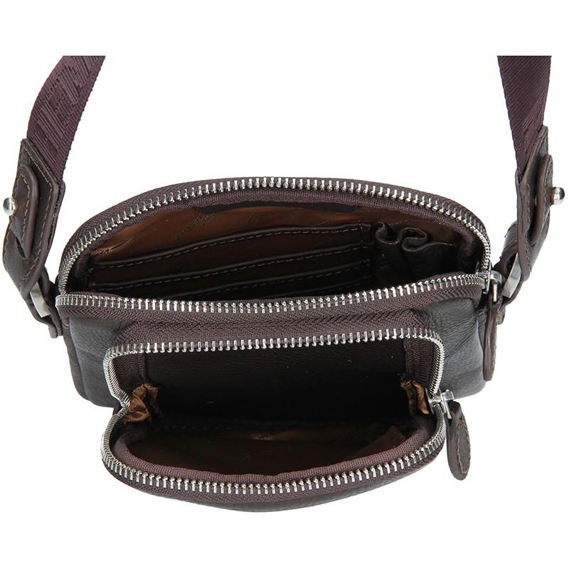 Pánská taška přes rameno Hexagona C92292 - černá