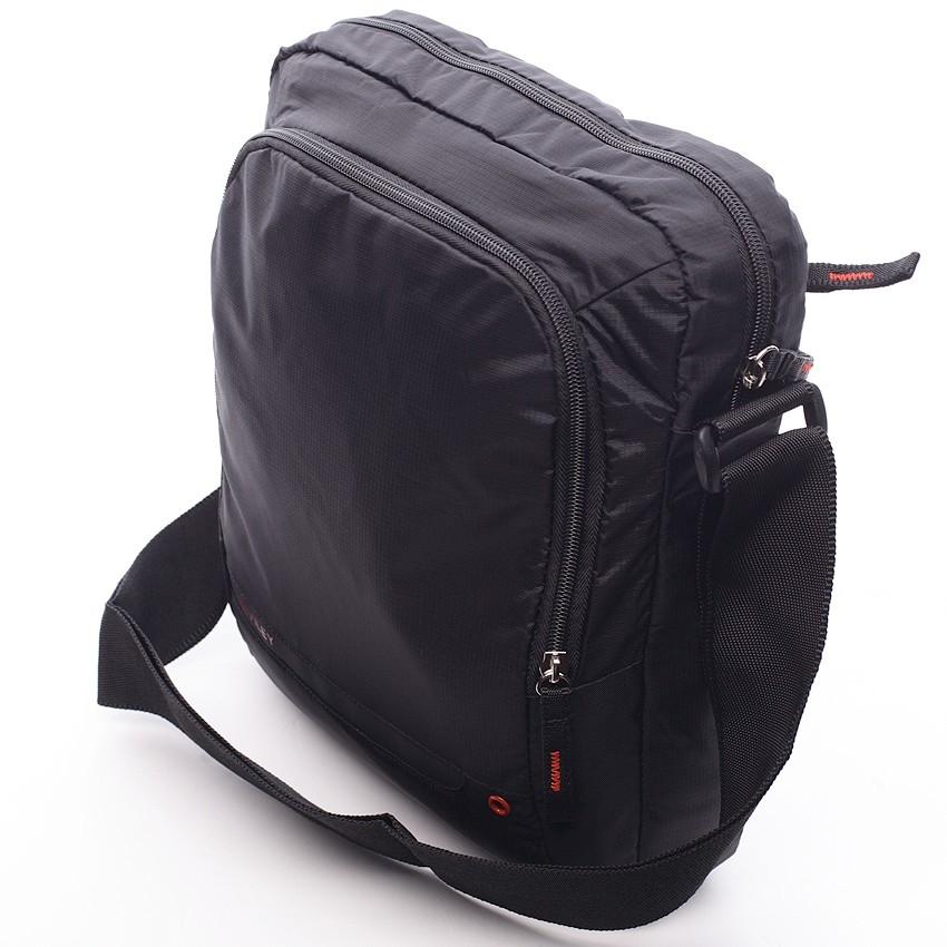 Pánská taška přes rameno Bugatti Moto - černá