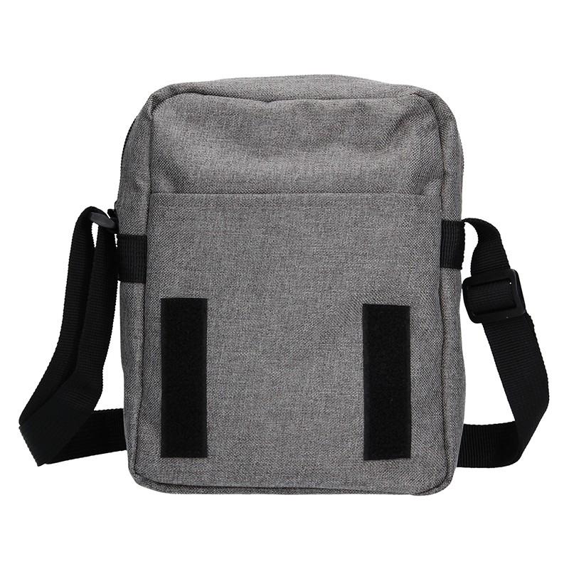 Pánská kožená taška přes rameno Lagen 3016/T - tmavě hnědá