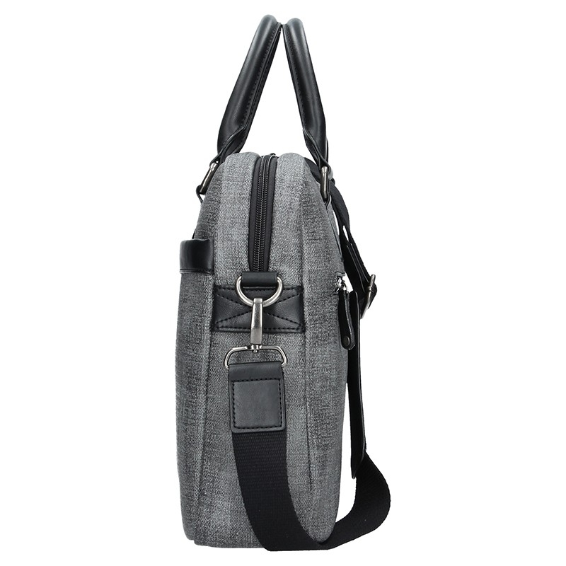 Dámská kabelka Doca 10869 - černá