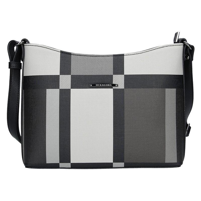 Dámská kabelka Hexagona 485165 - šedá