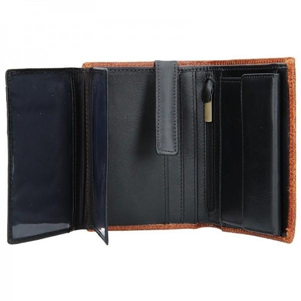 Pánská kožená peněženka Daag Wanted 22 - hnědá