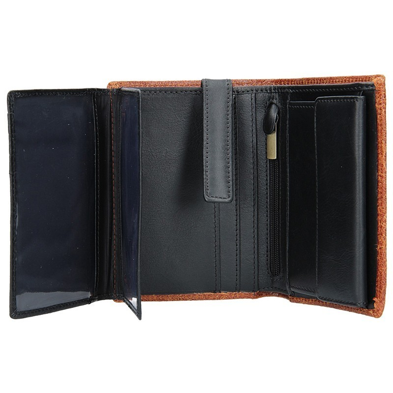 Pánská kožená peněženka Daag P11a - hnědá