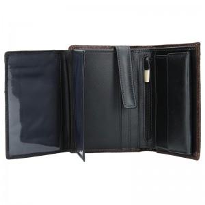 Pánská kožená peněženka Daag Wanted 22 - tmavě hnědá