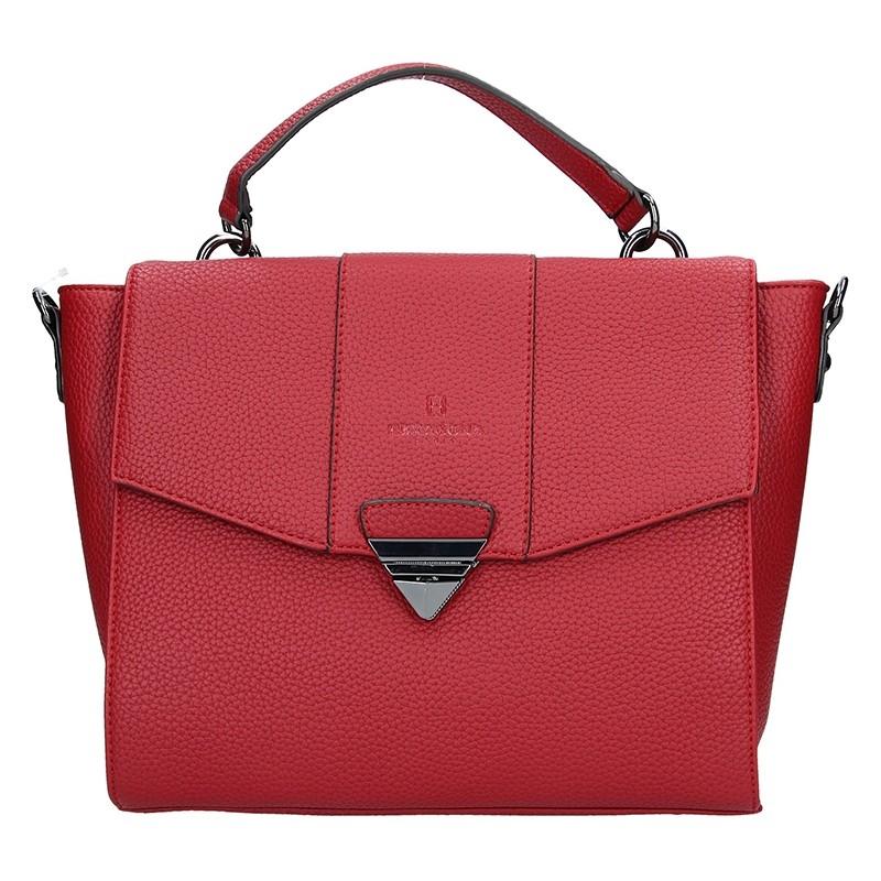 Dámská kabelka Hexagona 535216 - červená 714e5e47ce