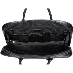 Pánská taška přes rameno Hexagona 389391 - černá