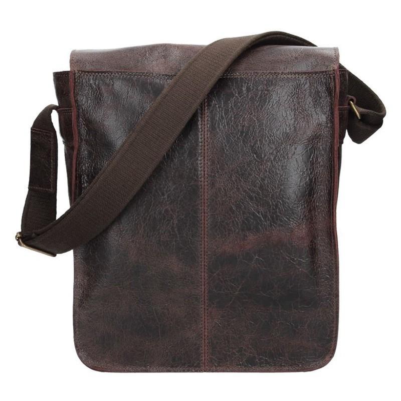 Pánská taška Daag JAZZY WANTED 9 - tmavě hnědá
