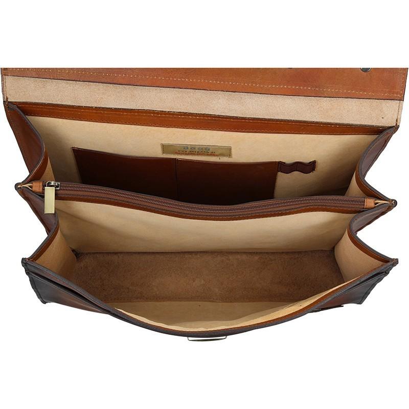 Luxusní pánská kožená taška Daag ALIVE 35 - hnědá