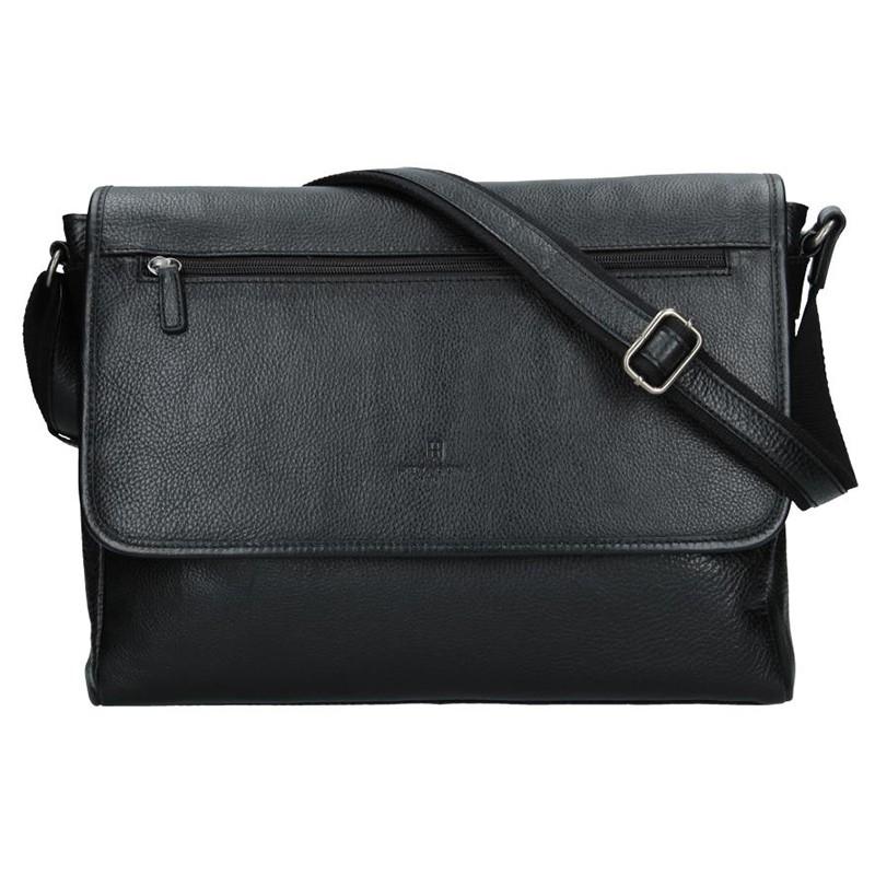 Pánská taška přes rameno Hexagona Royal - černá