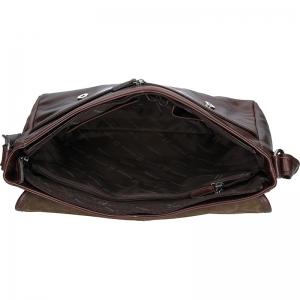Pánská taška přes rameno Hexagona Royal - tmavě hnědá