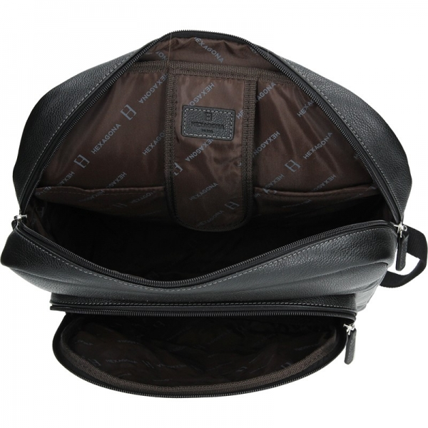 Pánský kožený batoh Hexagona 465455
