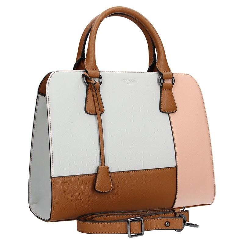 Dámská kabelka Hexagona 505235 - modro-bílá