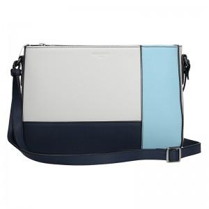 Dámská kabelka Hexagona 505238 - modro-bílá