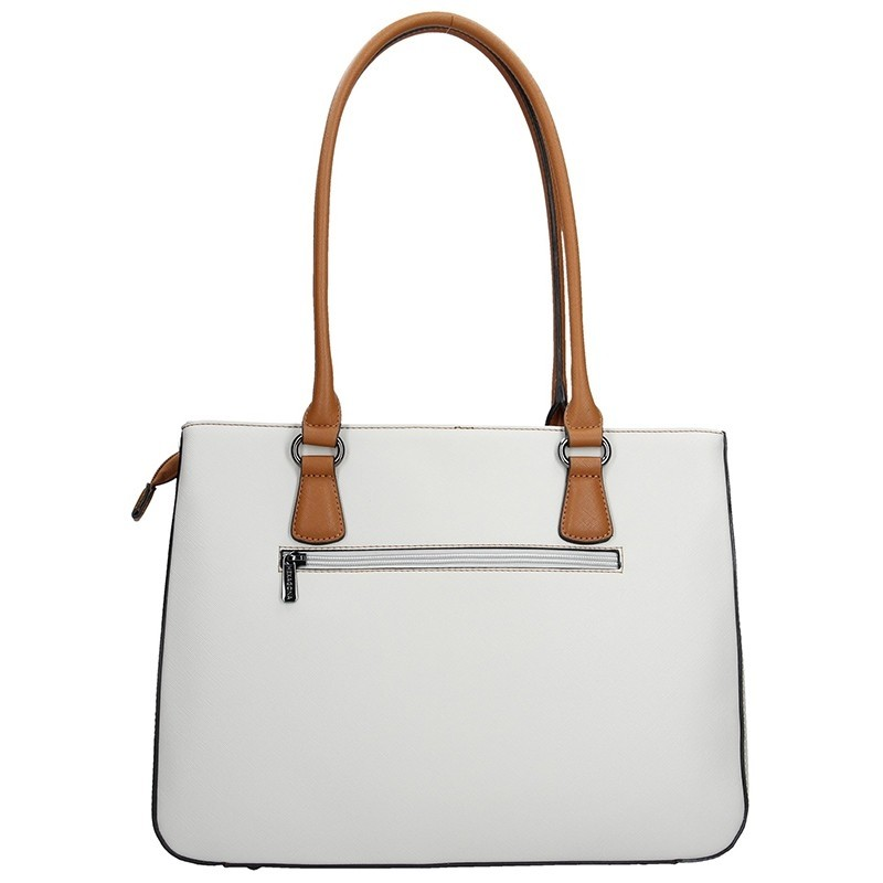 Dámská kabelka Hexagona 505239 - modro-bílá