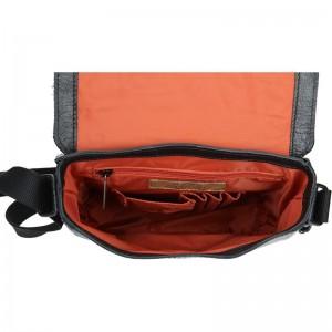 Pánská taška Daag JAZZY ORGANIC 3 - černá