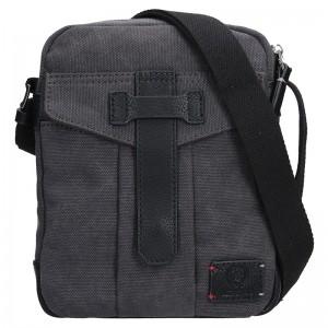 Pánská taška přes rameno Lerros Vily - černá