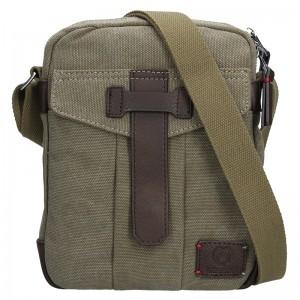Pánská taška přes rameno Lerros Vily - olivová