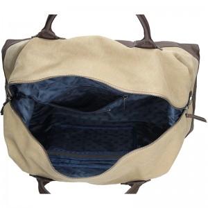 Pánská cestovní taška Lerros Tomas - béžovo-hnědá