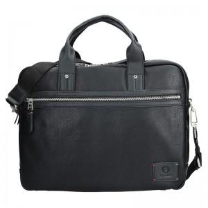 Pánská pracovní taška Lerros Lauren - černá