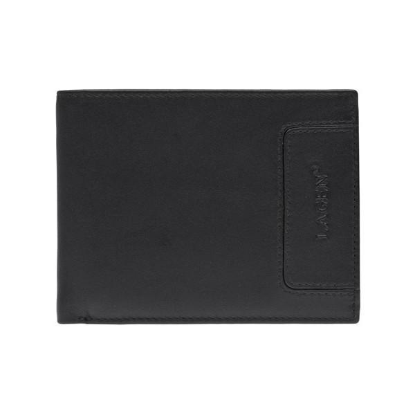 Pánská kožená peněženka Lagen 11221 - černá