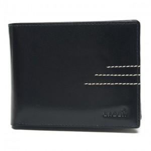 Pánská kožená peněženka Lagen 64666/C - černá