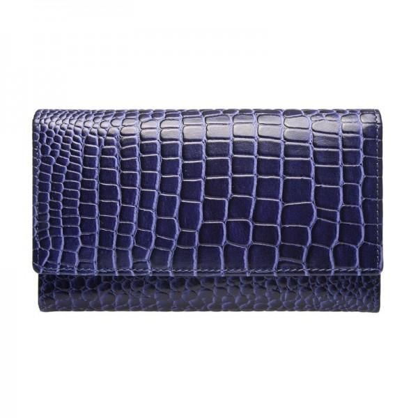 Dámská kožená peněženka Lagen Ema - fialová