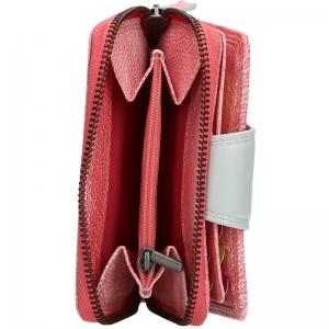 d999c1a089b ... Dámská kožená peněženka Lagen Lea - růžová