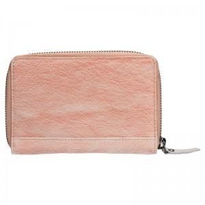 Dámská kožená peněženka Lagen Agáta - oranžovo-béžová