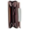 Dámská kožená peněženka Lagen Agáta - fialovo-stříbrná