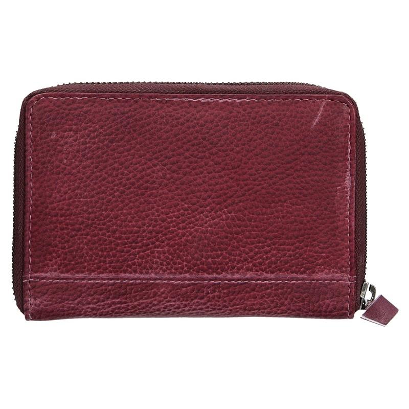 Dámská kožená peněženka Lagen Agáta - fialová