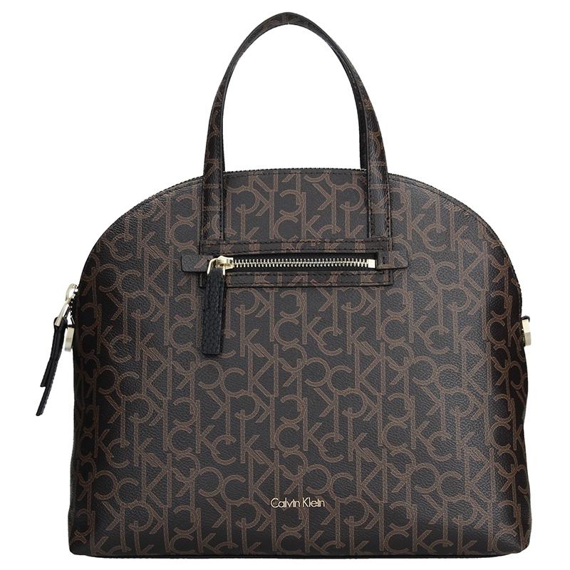 Dámská kabelka Calvin Klein Lorela - hnědá