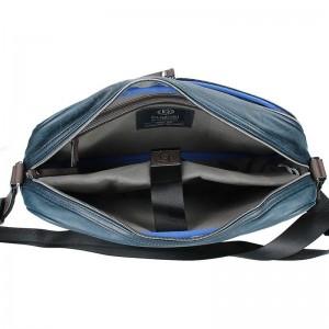 Pánská taška přes rameno Bugatti Moto D - tmavě modrá